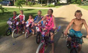 Bike Parade @ Indian Lake